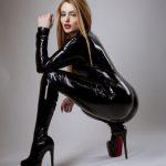 leather trans dominatrix webcam girl